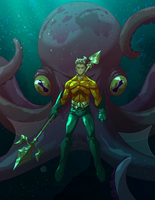 Aquaman by redeve