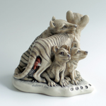 FOR SALE - Thylacine trinket box by MonsterBrand