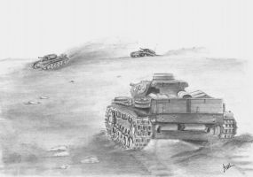 Panzer 3 by p40kittyhawk
