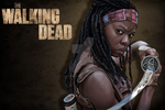 Michonne by JulietGarciaArt