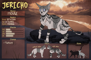 JERICHO - Mouse the Undying by Pedropoliss