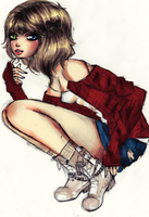 Almost Grunge colored by Liizzieh-Koi