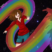 Kumiko Rainbow Splash by Rabisue