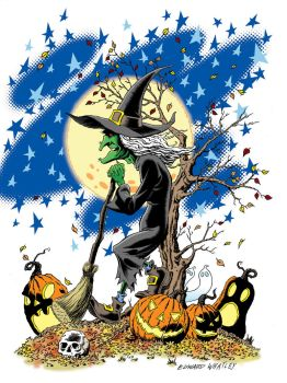 October Witch by EdwardWhatley