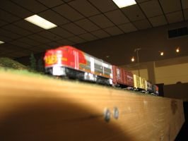 Model Power N scale ATSF FA-2 6 by TaionaFan369
