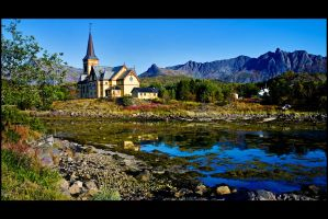 Lofoten church 2 by flemmens
