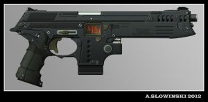 M-2189 Diplomat Machine Pistol by BlackDonner