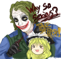 Why so serious? Take it easy by Reibu