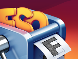 FontSieve Mac App Icon Design by Ramotion