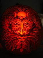 Pumpkin - Green Man by snerk