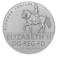 Diamond Jubilee Coin reverse by Leerjones