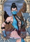 Kitana Sketch Card by tonyperna