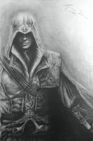 Assassin's Creed with Ezio by La-Psycho-Artist