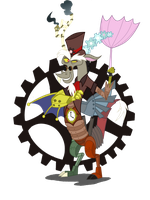 MLP: Steam Punk Discord by StrixMoonwing