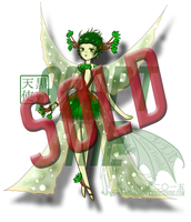 SOLD Auction Adoptable Faepea - Spring SOLD by kuroitenshi13