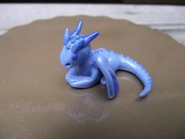 Blue Baby Dragon by twitchyone09
