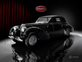 1937 Bugatti Cabriolet by theCrow65