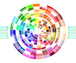 Multicolored Wheel Abstract by Viscious-Speed