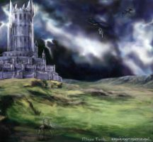 Minas Tirith by Devilry