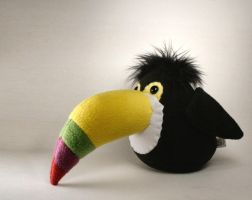 Terrance the Toucan Plushie by Saint-Angel