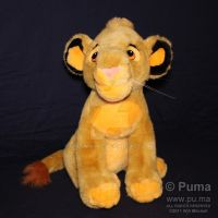 DisneyWorld - Cub Simba plush by dapumakat