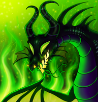 Maleficent by PlagueDogs123