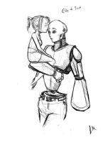 Weird Robot Love by Jessimie