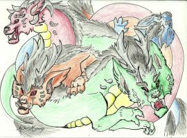 the four winds by larsMoon