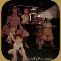 Tarzan and Jane's boy's by NENEnewby