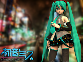 PROJECT DIVA by Bluejet97