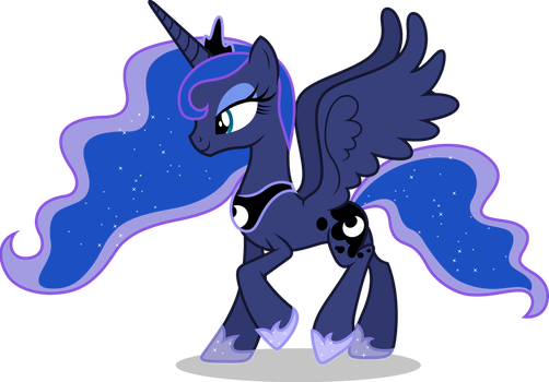 Vector #719 - Princess Luna #18 by DashieSparkle