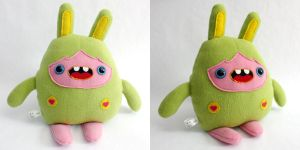 Zandy - Monchi Monster Plush by yumcha