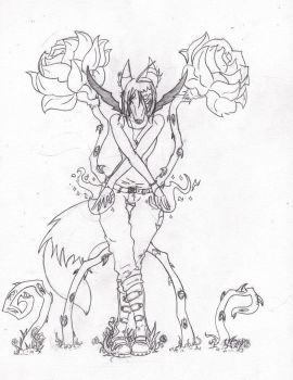 -Contest- Blooming Roses by Stormclad