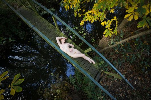 Bridged Nude by ChrissieRed