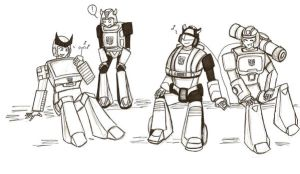 Autobot music break by Armadria