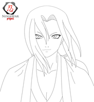 "Tsunade Lineart ""NW Project"" by CruzerBlade"