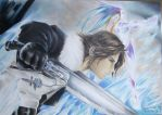 Squall and Shiva by guilherme-batista