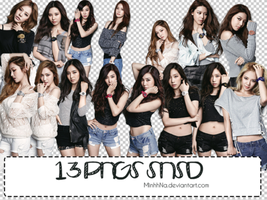 Pack 13 PNGs SNSD by MinhhNa