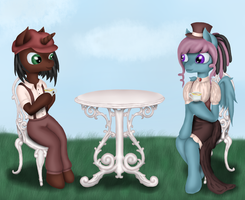 Teaparty by Tomatobox96