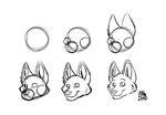 How I draw my faces by LeoOfTheDeaD