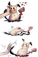Fun with Mimikyu by chenpathART