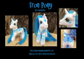 TRON pony for AeraCura by ImmortalPanda