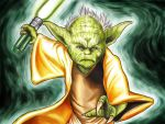 Master Yoda StarWars 2 by Junior Rodrigues by Junior-Rodrigues