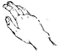 Hand Sketch by Sharly-Scholl