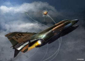 F-4E PHANTOM II by dugazm