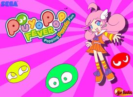 Puyo Pop Fever- Raffine by DiscoSaeba