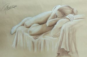 ArtW14 - sleeping woman by Puffsan