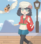 Pokemon X and Y - Trainer Request 7 by chocomiru02