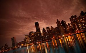 Manhattan NYC Wallpaper - 3 by sin-adviser