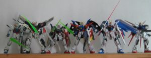 Some of the Best Gundams by Deadman0087